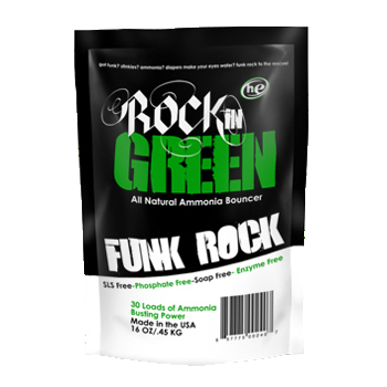Rockin' Green Funk Rock Ammonia Bouncer