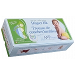 AMP One Size Duo Diaper Kit Hemp